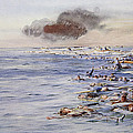 The Aftermath Of The Lusitania by William Lionel Wyllie