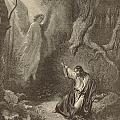 The Agony In The Garden by Antique Engravings