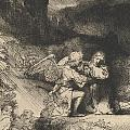 The Agony In The Garden by Rembrandt