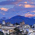 The Alhambra And Granada by Guido Montanes Castillo