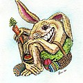 The Altered Easter Bunny by T Cook