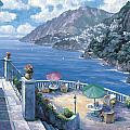 The Amalfi Coast by John Zaccheo
