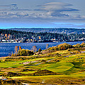 The Amazing Chambers Bay Golf Course - Site Of The 2015 U.s. Open Golf Tournament by David Patterson