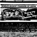The American Way - Standard Of Living by Benjamin Yeager