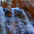 The Amicalola Waterfall by Jost Houk