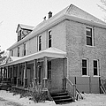 the ananda arthouse in the former st josephs rectory in Forget Saskatchewan Canada by Joe Fox