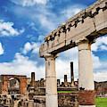 The Ancient Ruins Of Pompeii, Italy by Miva Stock