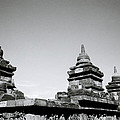 The Ancient Stupas Of Borobudur by Shaun Higson