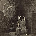 The Angel At The Sepulchre by Antique Engravings