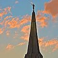 The Angel Maroni At Sunset by Richard Jenkins
