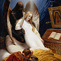 The Angel Of Death by Horace Vernet