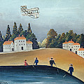 The Anglers, C.1908-09 Oil On Canvas Also See 309520 by Henri J.F. Rousseau