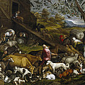 The Animals Entering Noah's Ark by Jacopo Bassano