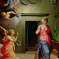 The Annunciation by Agnolo Bronzino