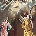 The Annunciation by El Greco Domenico Theotocopuli