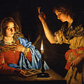 The Annunciation by Matthias Stom