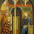 The Annunciation by Tommaso Masolino da Panicale