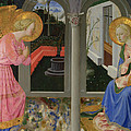 The Annunciation by Zanobi Strozzi