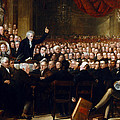 The Anti-slavery Society Convention 1840 by Benjamin Robert Haydon