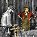 The Apprentice Blacksmith Armorer by John Straton
