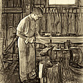The Apprentice - Paint Sepia by Steve Harrington