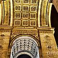 The Arc De Triomphe by Rafael  Pacheco