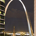 The Arch And Cathedral by Garry McMichael