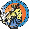 The Archer by David Chestnutt