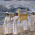 The Ark Passes Over The Jordan by James Tissot