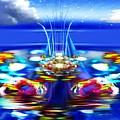 The Arkadian Fountain by Mario Carini