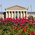 The Art Museum In Summer by Bill Cannon