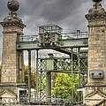 The Art Nouveau Ships Elevator - Portal View by Heiko Koehrer-Wagner