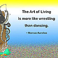 The Art Of Living by Mike Flynn