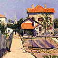 The Artists House At Yerres by Gustave Caillebotte