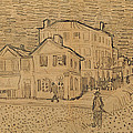 The Artists House In Arles by Vincent Van Gogh