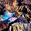 The Artists Palette Death Valley by Bob and Nadine Johnston