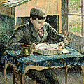 The Artists Son by Camille Pissarro
