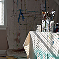 The Artists Studio by Paulette B Wright
