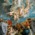 The Assumption Of The Virgin by Peter Paul Rubens