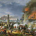 The Attack And Taking Of Ratisbon, 23rd April 1809, 1810 Oil On Canvas by Charles Thevenin
