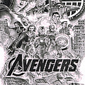 The Avengers by David Horton