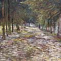 The Avenue At The Park by Vincent Van Gogh
