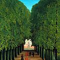 The Avenue In The Park At Saint Cloud    by Henri Rousseau