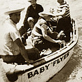 The Baby Flyer With Ed Ricketts And John Steinbeck  In Sea Of Cortez  1940 by California Views Mr Pat Hathaway Archives