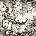 The Bachelor, Illustration From Pont An by Pont