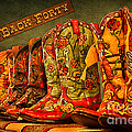 The Back Forty Boots Are Made For Dancin' by Priscilla Burgers