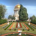 The Bahai Gardens by Uri Baruch