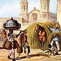 The Baker And The Straw Seller, 1840 by Federico Mialhe