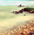 The Balaton Shore by Odon Czintos