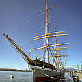 The Balclutha Historic 3 Masted Schooner - San Francisco by Daniel Hagerman